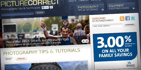 Picture Correct Top 20 Photography Websites 2011