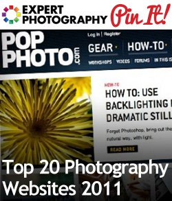 Top 20 Photography Websites 2011 Top 20 Photography Websites 2011