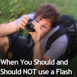 When You Should and Should NOT use a Flash
