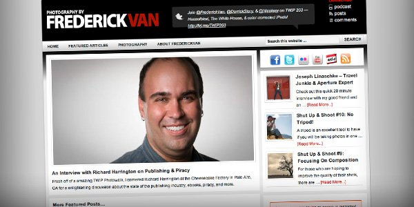 frederickvan Top 20 Most Influential Photographer Bloggers