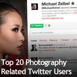 Top 20 Photography Related Twitter Users