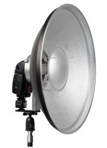 beauty dish 216x300 How to Use a Beauty Dish to Create Beautiful Lighting