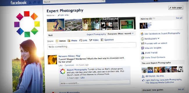 facebook 7 Steps to Create a Facebook Fan Page for Photographers