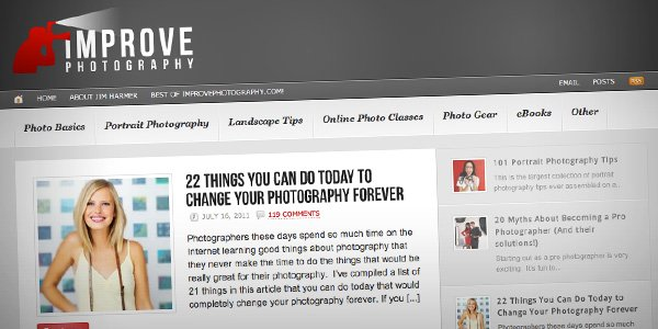 Improve Photography Top 20 Photography Websites 2012