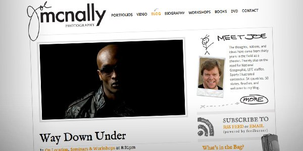 Joe McNally1 Top 20 Photography Websites 2012