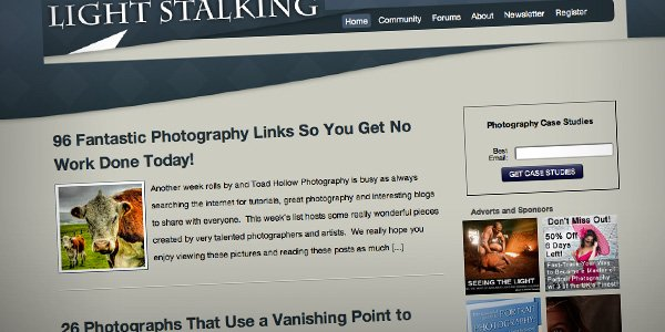 Light Stalking Top 20 Photography Websites 2012