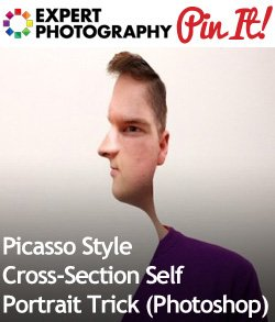 Picasso Style Cross Section Self Portrait Trick Photoshop1 Picasso Style Cross Section Self Portrait Trick (Photoshop)