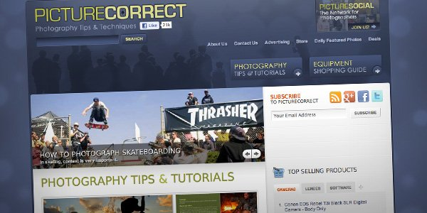 Picture Correct Top 20 Photography Websites 2012