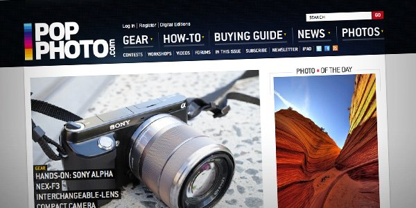 Pop Photos Top 20 Photography Websites 2012