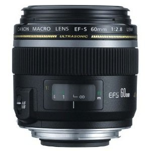 Canon EF-S 60mm f/2.8 Macro USM Digital SLR Lens for EOS Digital SLR Cameras