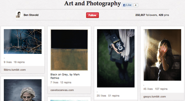 Art Photography Top 20 Photography Pinterest Boards
