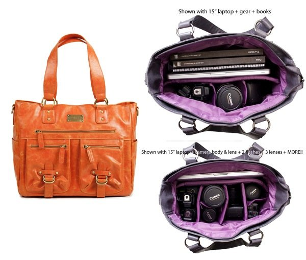 Kelly Moore Libby Bag Orange1 10 Stylish Camera Bags for Women