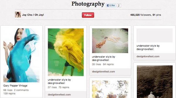 Screen shot 2012 09 20 at 17.39.00 Top 20 Photography Pinterest Boards