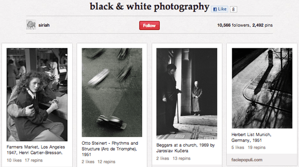 Screen shot 2012 09 20 at 17.48.37 Top 20 Photography Pinterest Boards