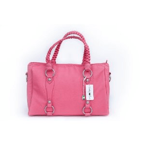 Cheeky Lime Livy Camera Bag, Coral