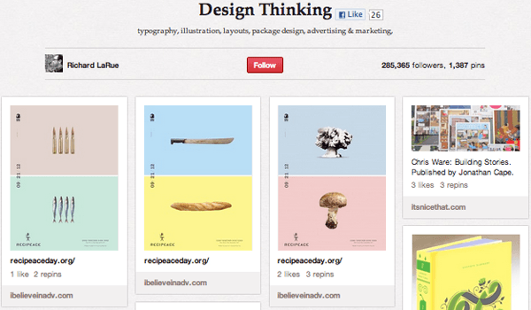 design Top 20 Photography Pinterest Boards