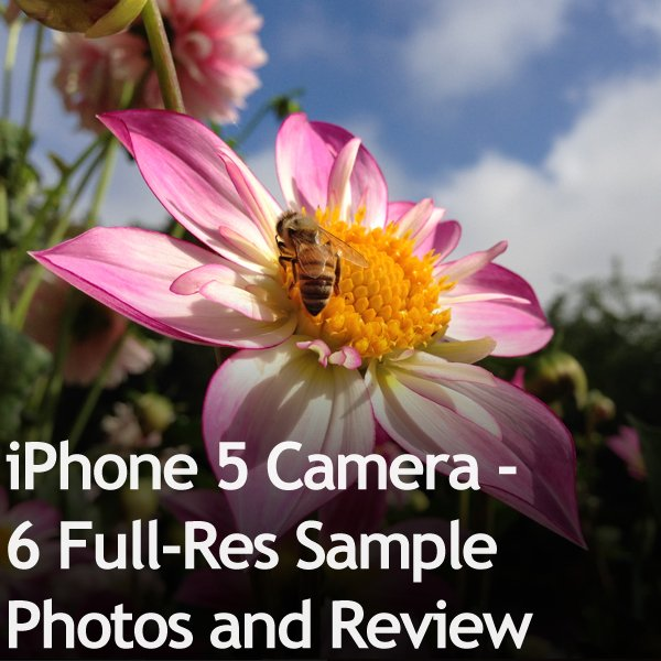 iPhone 5 Camera - 6 Full-Res Sample Photos and Review