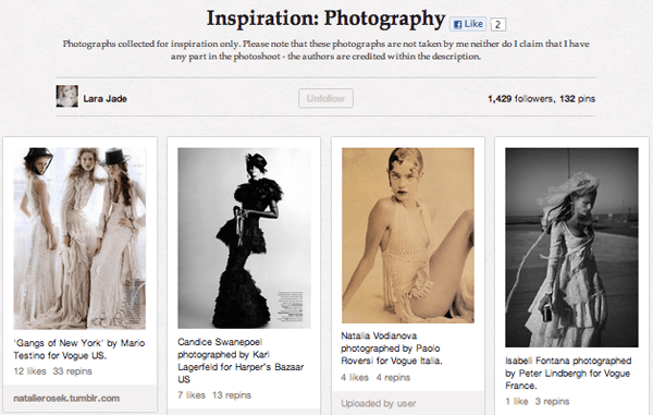 inspr Top 20 Photography Pinterest Boards