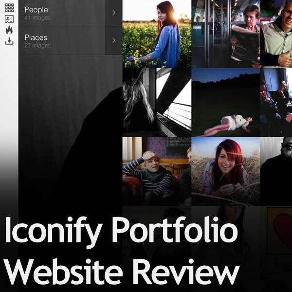 Iconify Portfolio Website Review