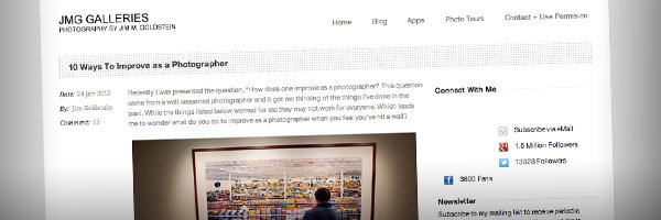 10 Ways To Improve as a Photographer Top 50 Photography Posts 2012