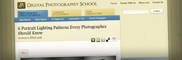 6 Portrait Lighting Patterns Every Photographer Should Know Top 50 Photography Posts 2012