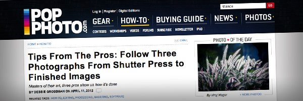 Tips From The Pros Follow Three Photographs From Shutter Press to Finished Images  Top 50 Photography Posts 2012