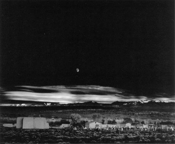 adams moonrise 10 Photography Lessons From Ansel Adams