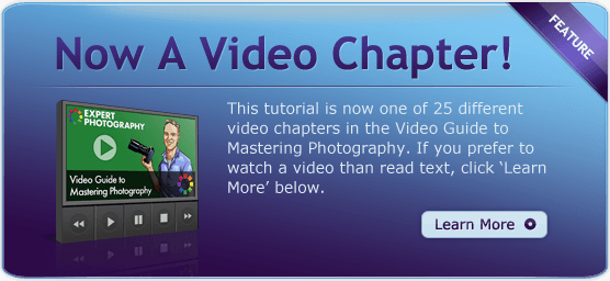 Now a Video Chapter Ad 4 Steps to Understanding Shutter Speed and its Creative Uses